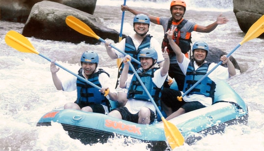 River Rafting Trips On Ayung River In Kuta Utara, Indonesia - Children Can Participate!
