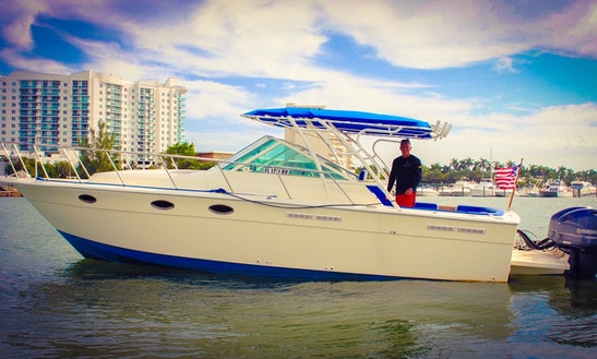 Charter 34' Tiara Cuddy Cabin In Miami Beach, Florida