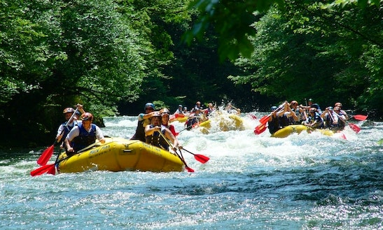 White Water Rafting Trips In Zagreb