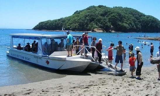 Glass Bottom Boat Snorkelingtrips In Pemenang
