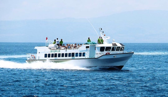 'eka Jaya 20' Boat Cruising Tour In Pemenang