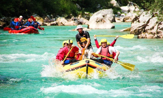 White Water Rafting Trips In Soča River