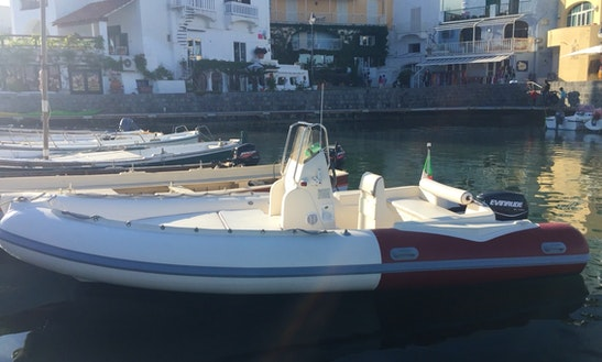 20' Rigid Inflatable Boat Rental In Naples, Italy