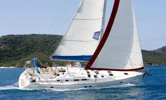 The Beneteau 473 Sailing Yacht In Chalkidiki