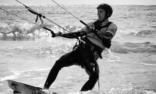 Kiteboarding In Saint-georges-d'oleron, France