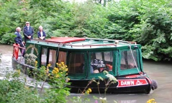 Wheelchair Accessible Canal Boat Hire In Odiham
