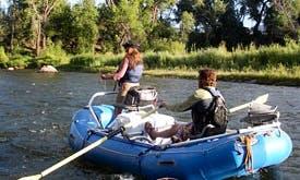 RIB Boat Fishing Charter in Silverthorne, Colorado