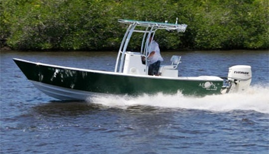 Enjoy 23 Ft Fish Fanatic Ii Fishing Charter In Ruskin, Florida