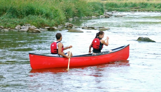 Guided Canoe Trips In Grand River