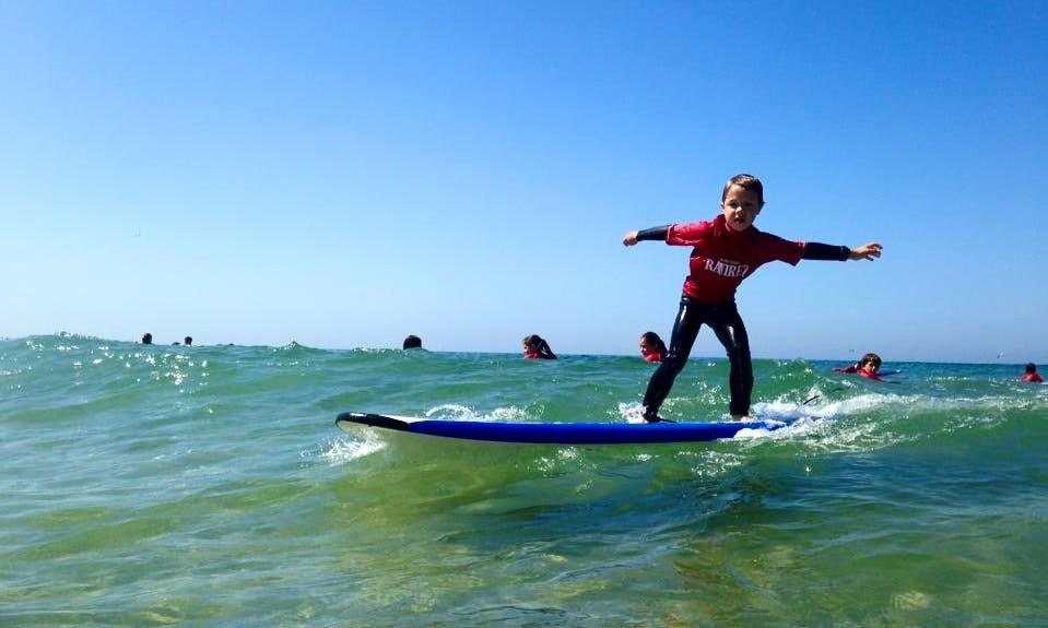 Surf Lessons in Matosinhos