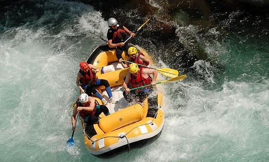 Exhilarating White Water Rafting Trips In Breil-sur-roya, France