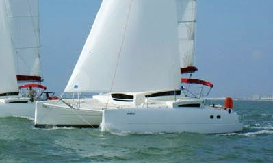 Charter the Sporty Edel 33 Catamaran In Saint-Tropez
