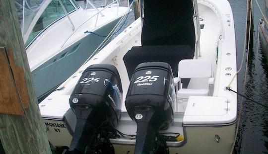 Fishing Charter On 32' Sea Craft Yacht In East Hampton, New York
