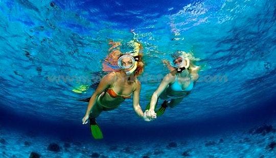 Snorkeling In Lembongan - Indonesia