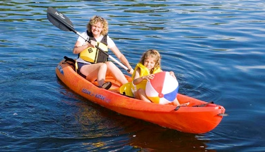 Double Kayak Rental In Central Okanagan H