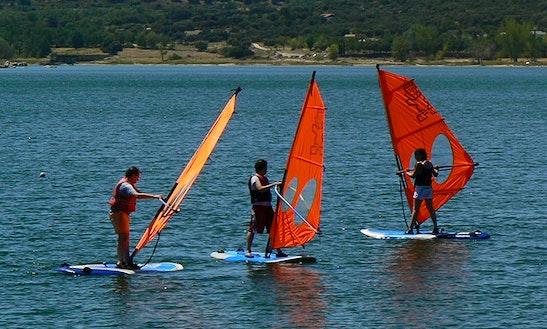 Windsurfing Lesson In Valdemorillo