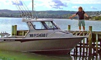 "21' ""Mr Flathead"" Head Boat Fishing Charters in Dodges Ferry, Australia"