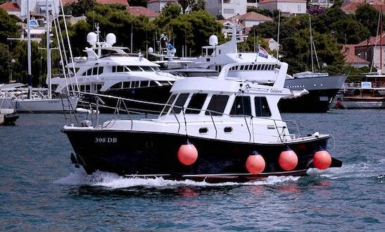 M/y Calafuria Cuddy Cabin Tour In Dubrovnik