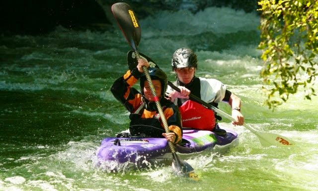 Double Kayak Lesson and Trip in Okere Falls