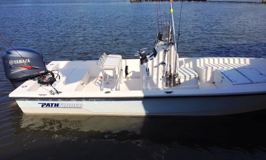 Fishing Charters On Center Console In Louisiana, Usa