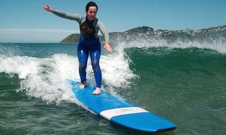 Surfing in Kaikoura - New Zealand