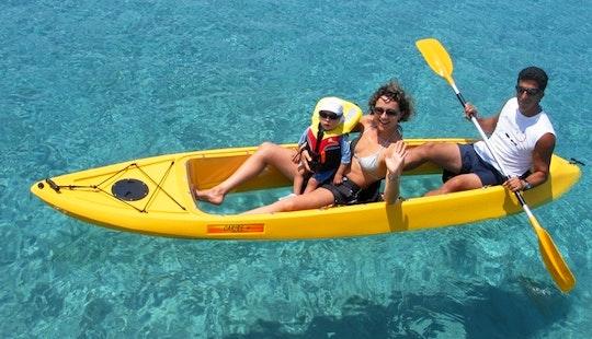 Glass Bottom Double Kayak In Pernera