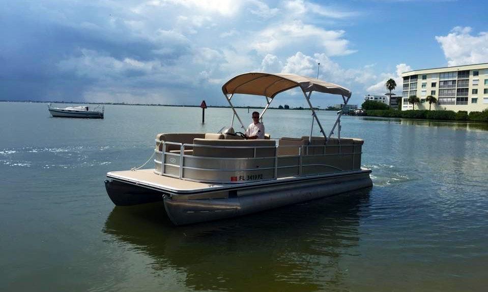 Pontoon Charter In Cocoa Beach Florida Getmyboat