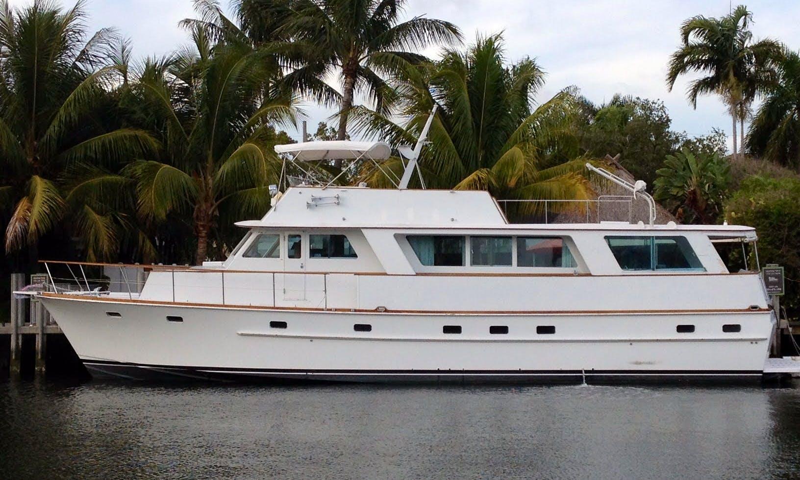 "Charter 63ft ""My Bozena"" Power Mega Yacht in East Hampton"