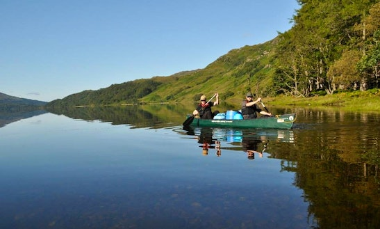 Canoeing Lessons In Llangollen