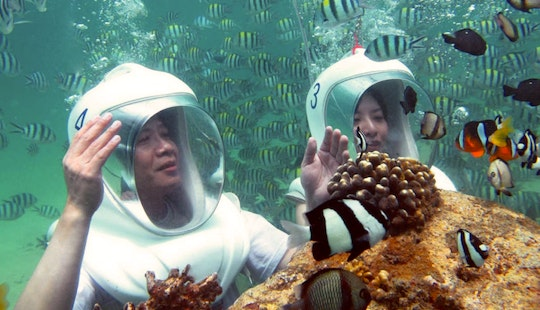 Underwater Sea Walking Tour In Kecamatan Gianyar, Indonesia
