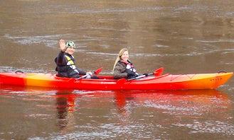 Kayaking in Sigulda - Latvia laivu-noma.lv
