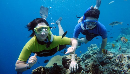 1 Hour Of Snorkeling Adventure In Kuta, Indonesia