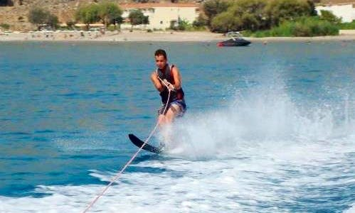 Water Skiing in Rhodes