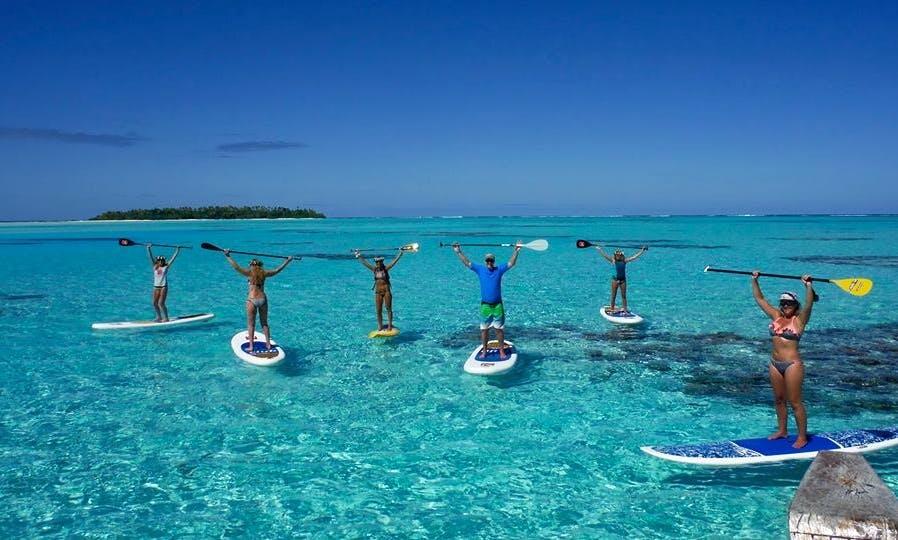 Paddleboard Rental & Lessons in Aitutaki, Aitutaki