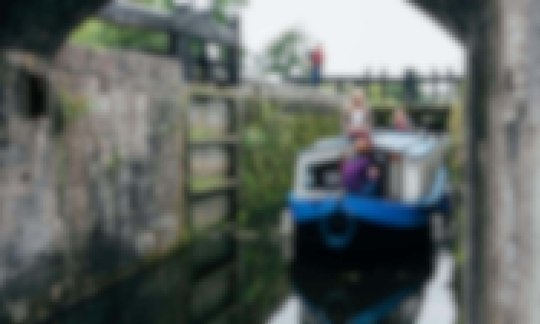 Grand Canal Cruise in Kildare, Ireland