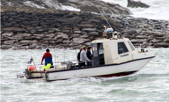 Cuddy Cabin Fishing Charter In Bude - Uk