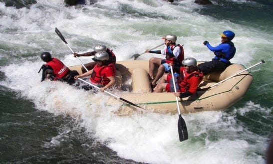 White Water Rafting On Cagayan De Oro River
