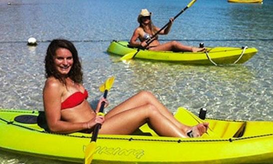 Glass Bottom Kayak Hire In Lord Howe Island