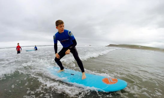 Ride Your First Wave In England, United Kingdom