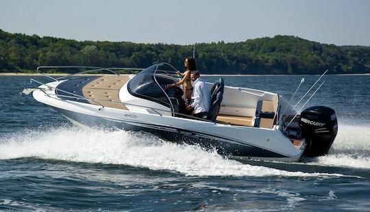 'galia 635 Cruiser' Boat Hire In Rab