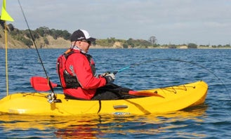 Single Kayak Fishing Lessons & Tours in Wellington