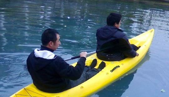 Explore White Lake With A Branded Double Kayak For Rent!