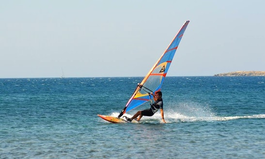 Windsurfing Lessons In Lesvos