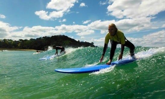 Surf Lessons In Ngunguru
