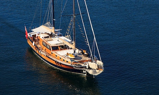 M/s Pacha Sailing Mega Yacht Charter In Rogoznica