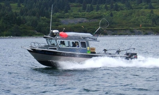 28' Cuddy Cabin Charter In Port Lions, Alaska