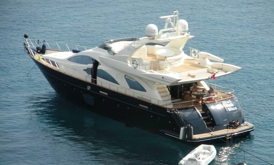 Azimut 80 Power Mega Yacht Charter In Sukošan