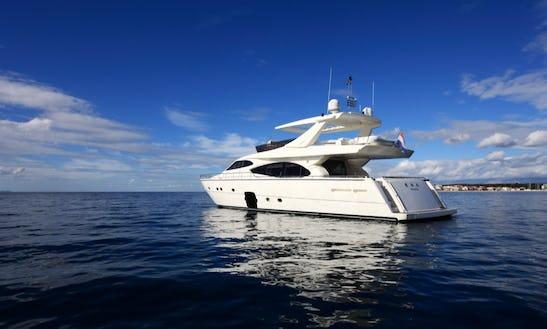 Ferretti 780 Ht Power Mega Yacht Charter In Zadar