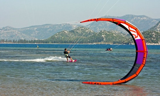 Kiteboarding Lesson In Opuzen