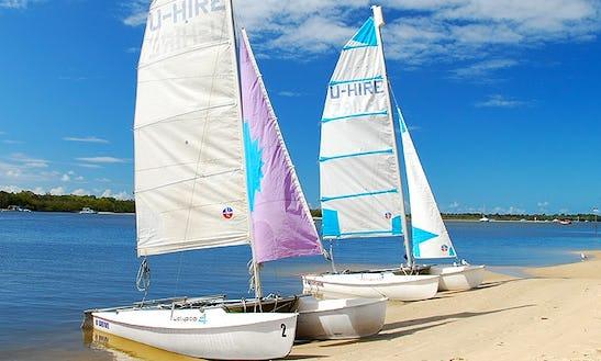 Beach Catamaran Hire  In Noosaville,queensland - Australia